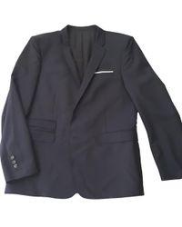 The Kooples - Black Wool Suit - Lyst