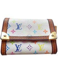 Louis Vuitton Vintage Multicolour Cloth Purses Wallets & Cases