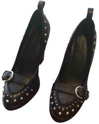 Zadig & Voltaire Leather Heels - Black