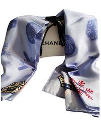 Chanel Seide Halstuch - Mehrfarbig