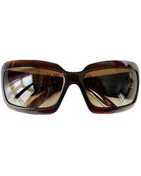 Chanel Oversize brille - Braun