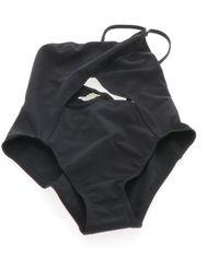 Hermès Black Lycra Swimwear