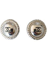 Chanel Cc Ohrringe - Mehrfarbig