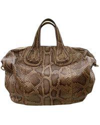 Givenchy Nightingale Python Handtaschen - Schwarz