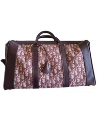 Dior Cloth 48h Bag - Brown