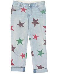 Stella McCartney Boyfriend Jeans - Blau