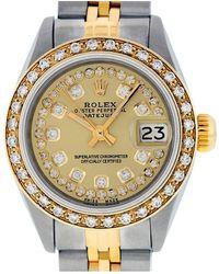 Rolex Datejust Uhren - Mettallic