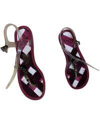Burberry Flip Flops - Multicolor