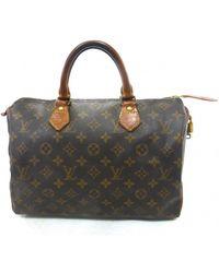 Louis Vuitton - Sac à main Speedy en toile - Lyst