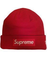 Supreme Hat - Red