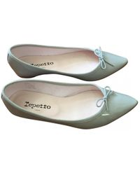 975f3a27988 Repetto Blue Patent Leather Ballet Flats in Blue - Lyst