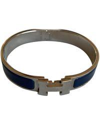 Hermès Clic H Armbänder - Blau