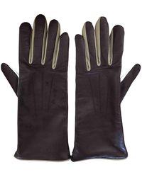 Isabel Marant Leather Gloves - Multicolour