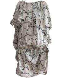 Thakoon Silk Mini Dress - White