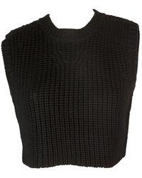 Neil Barrett Black Wool Knitwear