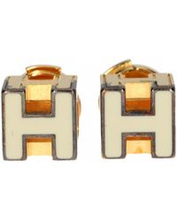 Hermès - Cage D'h Earrings - Lyst