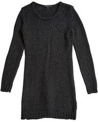 Maje - Black Dress - Lyst