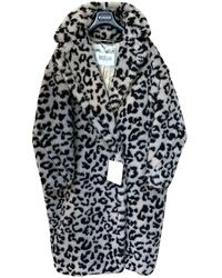 Max Mara Teddy Bear Icon Wool Coat - Natural