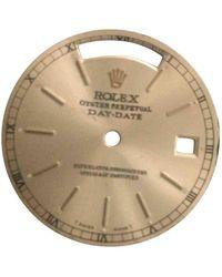 Rolex Montres DateJust II 41mm en Acier Jaune