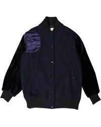 By Malene Birger - Navy Wool Jacket - Lyst