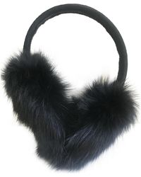 Sandro Rabbit Hat - Black