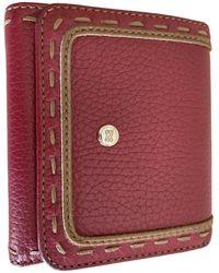 Lancel Leather Wallet - Multicolor