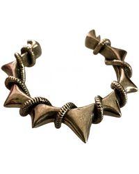 Zadig & Voltaire Silver Metal Bracelet - Multicolour