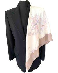 Dior Seide Schals - Mehrfarbig