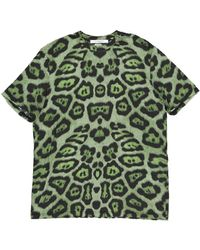Givenchy Green Cotton Top