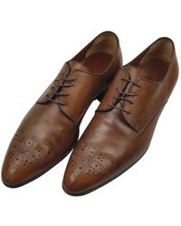 Louis Vuitton Lv Formal Brown Leather Lace Ups