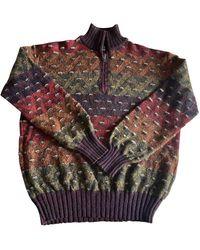 Missoni Wolle Pullover - Mehrfarbig