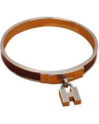 Hermès - Kelly Other Metal Bracelets - Lyst