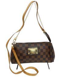 Louis Vuitton Milla Brown Leather Handbag