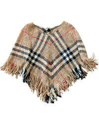 Burberry Wool Cape - Multicolour