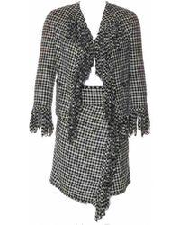 Chanel Vest en Soie Noir