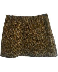 Marni Wool Mini Skirt - Multicolor