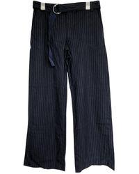 Lanvin Large Pants - Blue