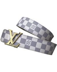 Louis Vuitton Cintura in Tela - Bianco