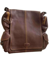 Tod's Leather Satchel - Brown