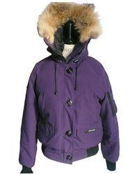 Canada Goose Chilliwack Purple Polyester Coat
