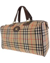 Burberry Brown Cloth Bag