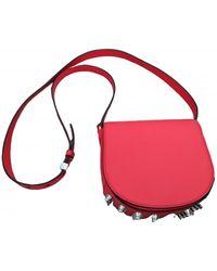 Alexander Wang Lia Leather Crossbody Bag - Red