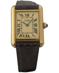 Cartier Tank Must Vermeil Uhren - Mehrfarbig