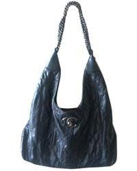 Chanel Leather Handbag - Black