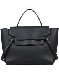 Céline Belt Black Leather Handbag