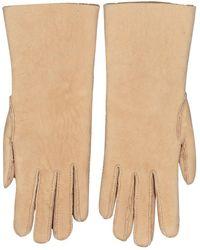 Hermès Schaf handschuhe - Natur