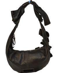 Valentino Leder Handtaschen - Grau