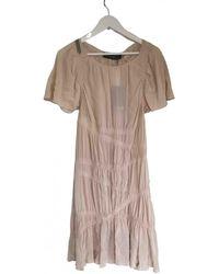 Thakoon Silk Mid-length Dress - Pink
