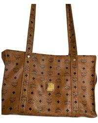 MCM Patent Leather Travel Bag - Multicolour