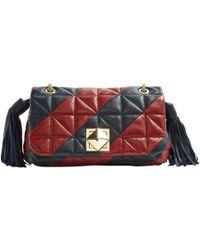 Sonia Rykiel - Pre-owned Leather Crossbody Bag - Lyst